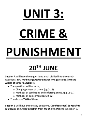 wjec crime and punishment revision guide by kjelliott teaching wjec crime and punishment revision guide by kjelliott88 teaching resources tes