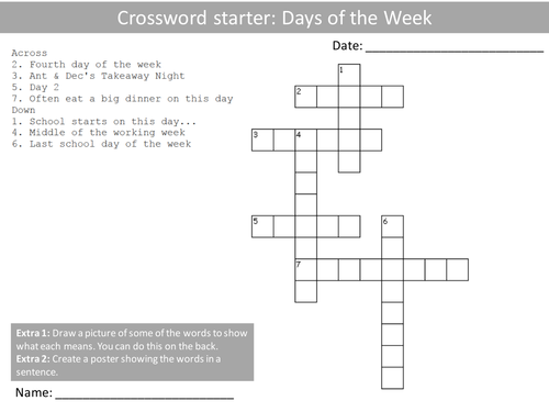 10 Crosswords French Language Keywords Crossword Plenary