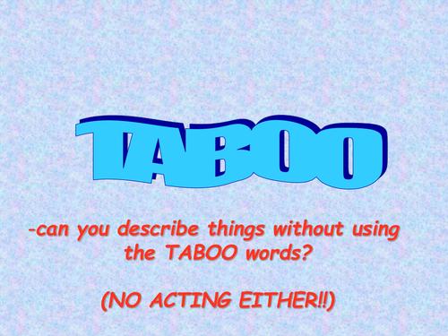 An Inspector Calls Taboo