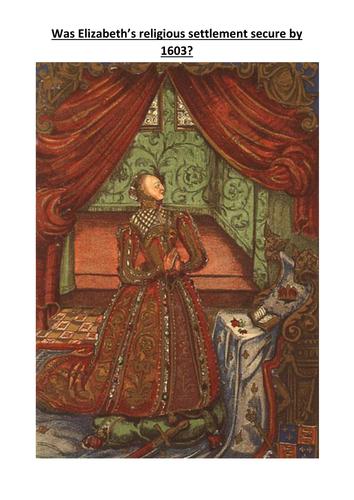 A Level Revision Elizabeth I's Religious Settlement