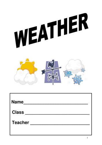 S1/2 Weather workbook