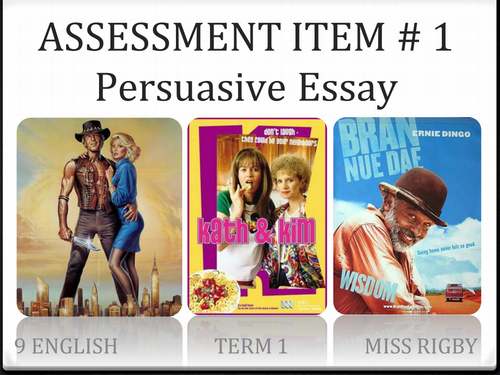 Australian stereotypes - how to write a persuasive essay