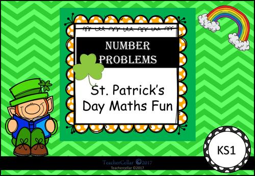 St. Patrick's Day Numeracy Workbook