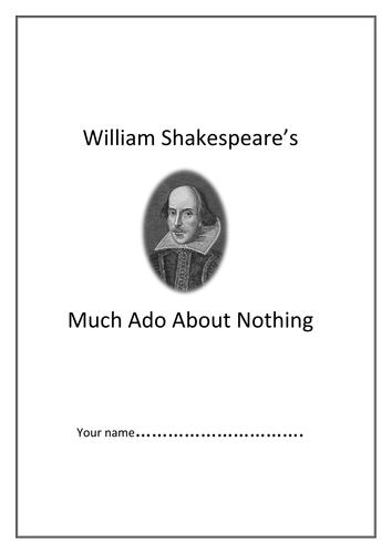 Much Ado About Nothing workbooklet