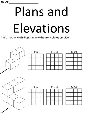 Plans and elevations booklet