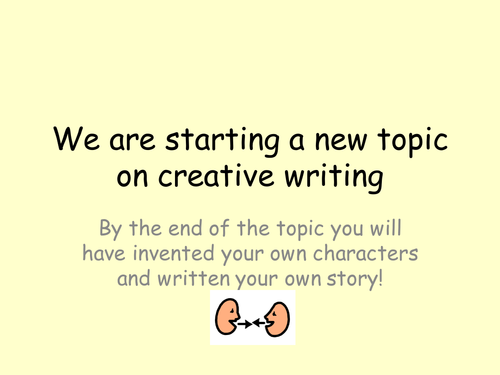 Creative writing  10 lesson powerpoints and resources L1-3 KS3 SEN /KS2 English & Literacy