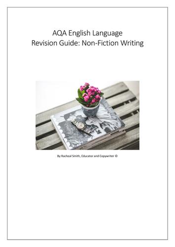 AQA English Language Paper 2 nonfiction writing