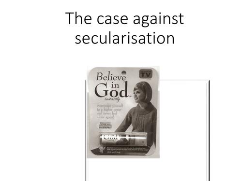 Arguments against secularisation