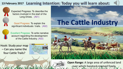 american west cattle industry revision
