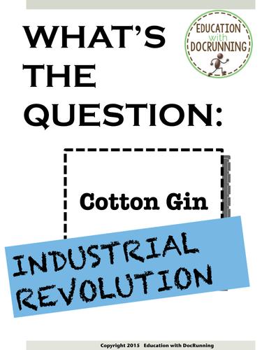 Industrial Revolution Bell-Ringers for the study of the Industrial Revolution