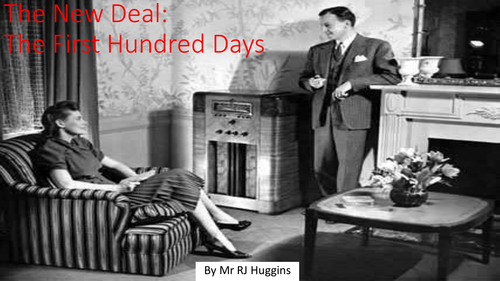 New Deal: FDR's First Hundred Days