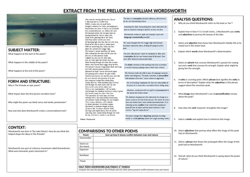 Prelude Worksheet - Power and Conflict