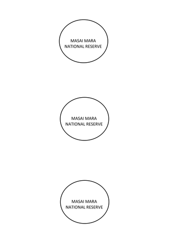 KS3 Africa Case Study- Masai Mara Assessment