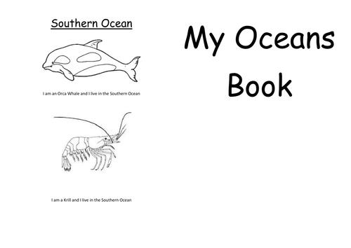 Oceans booklet