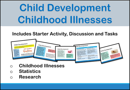 Child Development - Childhood Illnesses (Unit of Work)