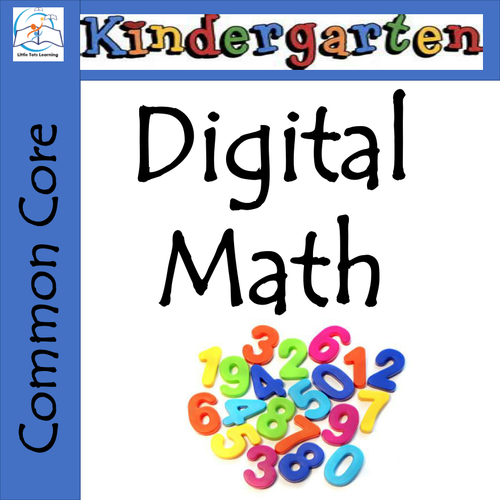 Whiteboard Kindergarten Math - Common Core Aligned