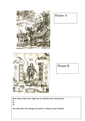 Cromwell interpretation worksheet