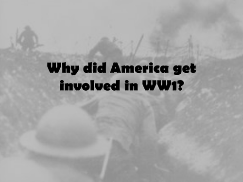 USA and WW1