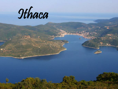 OCR GCE H074 Literature Poetry - 'Ithaca' by Carol Ann Duffy.