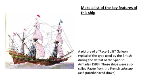 *Full Lesson* Changing Nature of the Royal Navy: Introduction and the Age of Sail (Edexcel A-Level)