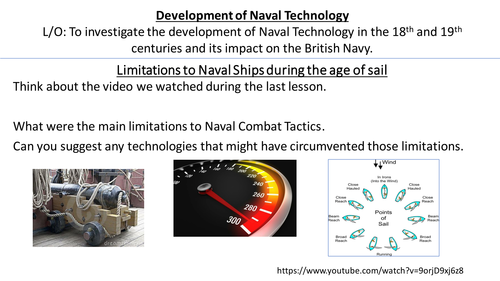 *Full Lesson* Changing Nature of Royal Navy: Development of Technology (Edexcel A-Level History)