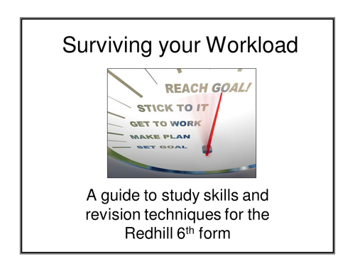 A level study skills presentation