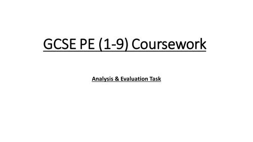 section 5 pe coursework Gcse pe text book folder news forum topic 1 practical coursework rounders rules file gcse bitesize revision url.