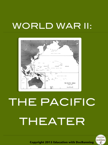 The Second World War: Pacific Theater Station Activities for World War II Unit
