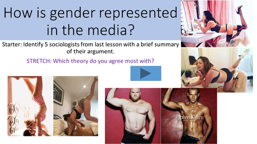 Representation of gender in the media - OCR