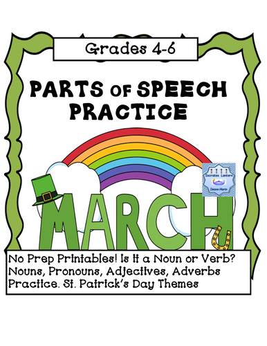 March Parts of Speech