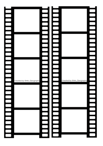 Film reel (Tsunami's, glaciers etc.)