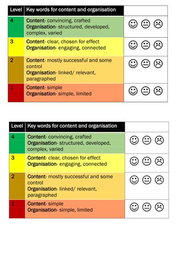 AO5 traffic light target sheet ENGLISH