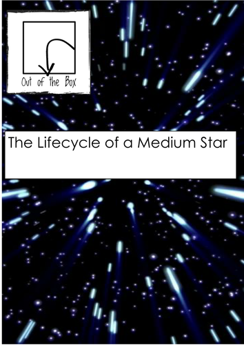 Space. The Lifecycle of a Medium Star. Facts and Worksheet