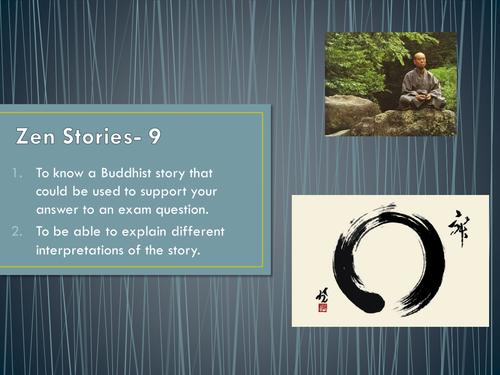 zen explains messages from nine stories