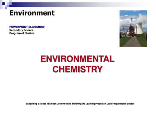 GCSE Environmantal Chemistry