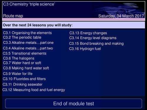 Gcse profile tes aqa triple science c3 part 1 urtaz Choice Image