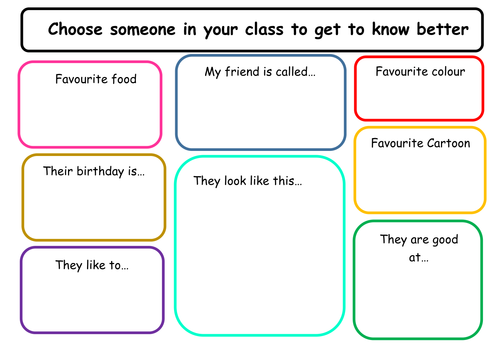 Friendship Worksheets By Miss Tallulah Teaching