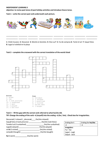 Worksheet Introduction To Specific Heat Capacities Pdf Mira  Spanish  Module  El Tiempo Libre By Gilly  Teaching  Printable Perimeter Worksheets with Free Perimeter Worksheets Pdf Past And Future Holidays Spanish Worksheet  Cover Lesson Middle School Science Worksheets Pdf