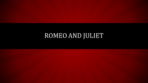 Romeo and Juliet - Act 3 scene 2 soliloquy
