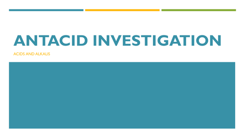 Antacid Investigation