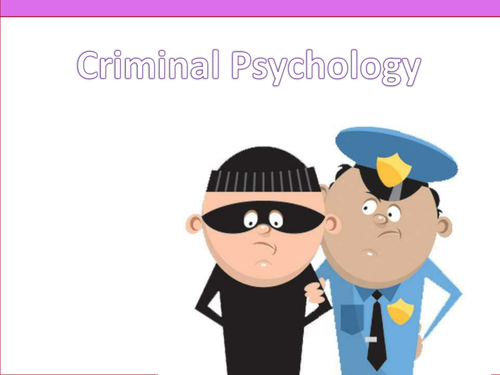 Criminal Psychology (OCR)