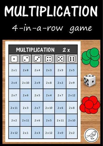 Multiplication Game - 4 in a row