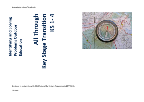 Outdoor Education Ks1-5 All through. Planned. Mapped. Assessment.