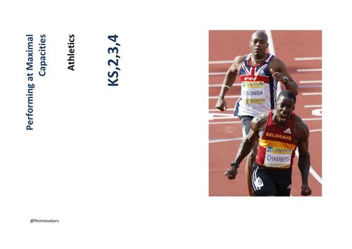 Athletics SOW PE KS1/ KS2/KS3/KS4.