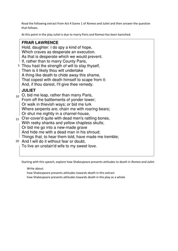 romeo and juliet gcse revision by charishunn teaching resources romeo and juliet gcse revision by charishunn teaching resources tes