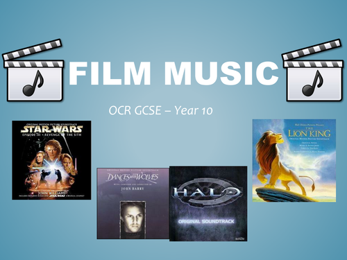 GCSE Film Music Lesson 3