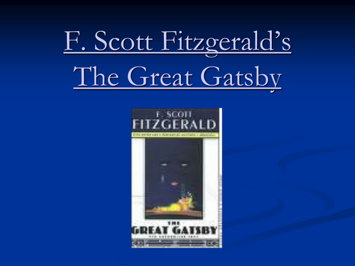 the great gatsby research paper topics The great gatsby analysis outline example thesis statement: through the empty lives of three characters from this novel—george wilson, jay gatsby, and daisy buchanan—fitzgerald shows that chasing hollow dreams leads only to misery.