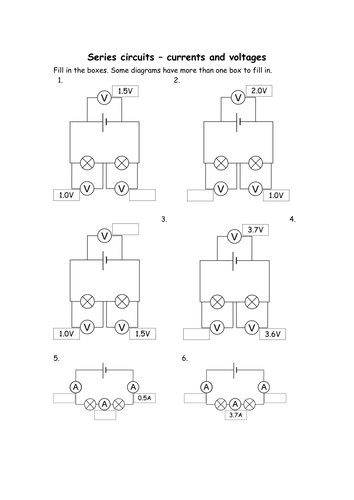 AQA Series Circuits