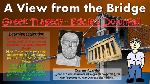 Argument Essay Thesis A View From The Bridge Greek Tragedy  Eddies Downfall By Tandlguru   Teaching Resources  Tes Marriage Essay Papers also The Yellow Wallpaper Essay A View From The Bridge Greek Tragedy  Eddies Downfall By  Buy An Essay Paper