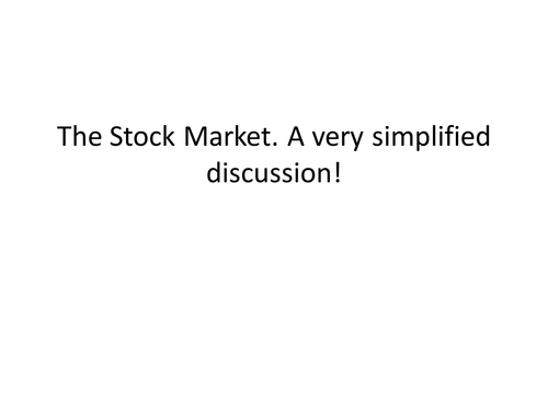 Stock market and brexit